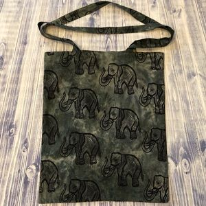 NWOT Elephant Tie Dyed Tote Bag